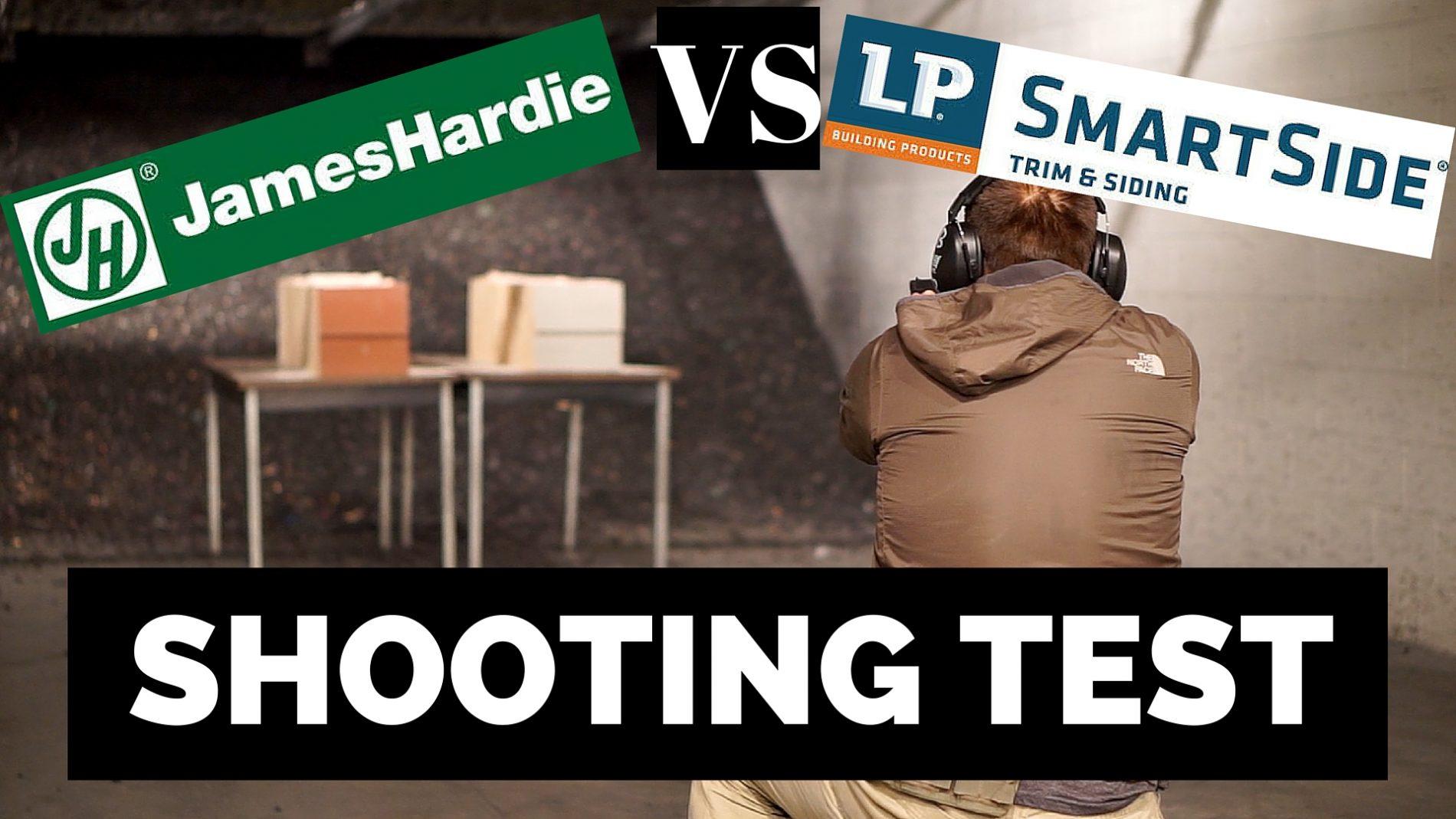 James hardie and lp smartside shooting wars for Lp smartside vs hardie